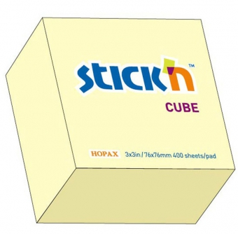 Cub notes autoadeziv 76 x 76 mm, 400 file, Stick