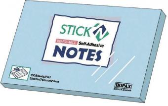 Notes autoadeziv 76 x 127 mm, 100 file, Stick