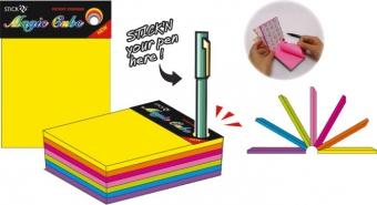 Magic cube color 101 x 76 mm, 280 file, Stick