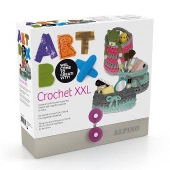 Cutie cu articole creative ALPINO ArtBox Textile Yarn