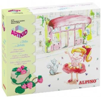 Cutie cu articole creative pentru copii, ALPINO ArtKid El Talle de Juliette