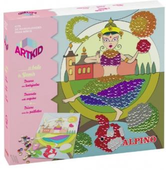 Cutie cu articole creative pentru copii, ALPINO ArtKid El baile de Yamir