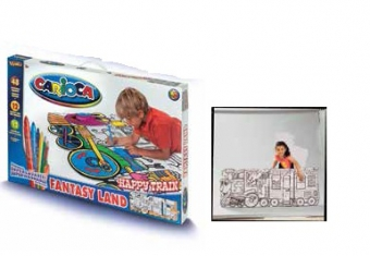 Set articole creative CARIOCA Fantasy Land - Happy Train