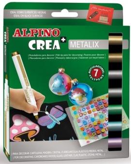 Set ALPINO Crea + METALIX - carioca