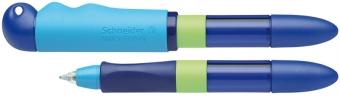 Roller cu cartus SCHNEIDER Base Senso, senzor luminos, corp albastru/verde - scriere albastra