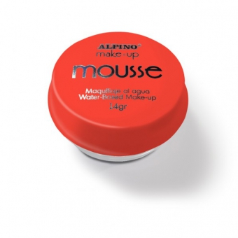 Spuma machiaj, 14gr., ALPINO Make-Up Mousse - rosie