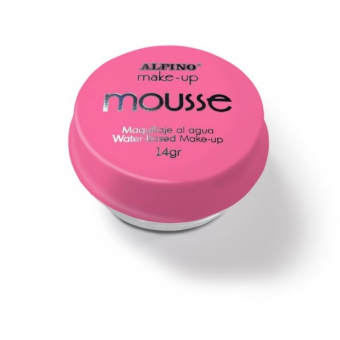 Spuma machiaj, 14gr., ALPINO Make-Up Mousse - roz