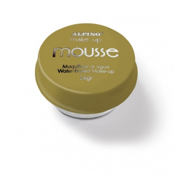 Spuma machiaj, 14gr., ALPINO Make-Up Mousse - aurie