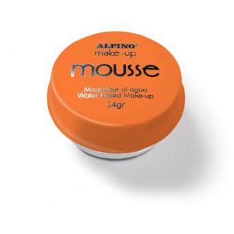 Spuma machiaj, 14gr., ALPINO Make-Up Mousse - portocalie
