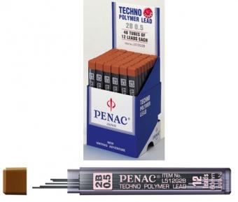 Mine pentru creion mecanic 0,3mm, 12/set, PENAC - HB