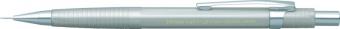 Creion mecanic profesional PENAC NP-3, 0.3mm, con metalic cu varf cilindric fix - corp argintiu