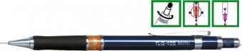 Creion mecanic profesional PENAC TLG-105, 0.5mm, con metalic cu varf cilindric fix - inel maro