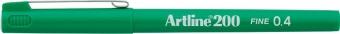 Liner ARTLINE 200, varf fetru 0.4mm - verde