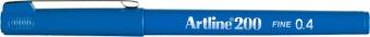 Liner ARTLINE 200, varf fetru 0.4mm - albastru royal