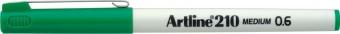 Liner ARTLINE 210, varf fetru 0.6mm - verde