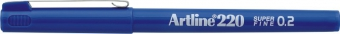 Liner ARTLINE 220, varf fetru 0.2mm - albastru