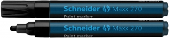 Marker cu vopsea SCHNEIDER Maxx 270, varf rotund 1-3mm - negru