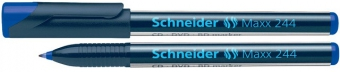 CD/DVD-marker SCHNEIDER Maxx 244, varf 0.7mm - albastru