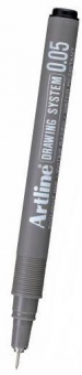 Marker pentru desen tehnic ARTLINE, varf fetru 0.05mm - negru