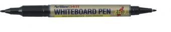 Marker pentru tabla de scris ARTLINE 541T, doua capete - varfuri rotunde 0.4mm/1.0mm - negru