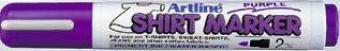T-Shirt marker ARTLINE, corp plastic, varf rotund 2.0mm - violet deschis