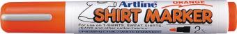 T-Shirt marker ARTLINE, corp plastic, varf rotund 2.0mm - portocaliu pastel