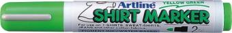 T-Shirt marker ARTLINE, corp plastic, varf rotund 2.0mm - vernil