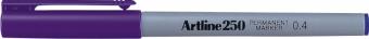 Permanent marker ARTLINE 250, corp plastic, varf rotund 0.4mm - violet