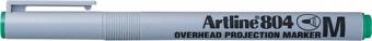 OHP Non-Permanent marker ARTLINE 804, varf mediu - 1.0mm - verde