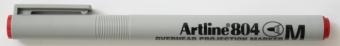 OHP Non-Permanent marker ARTLINE 804, varf mediu - 1.0mm - rosu