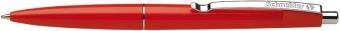 Pix SCHNEIDER Office, clema metalica, corp rosu - scriere rosie