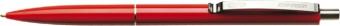Pix SCHNEIDER K15, clema metalica, corp rosu - scriere rosie