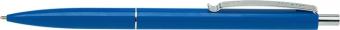 Pix SCHNEIDER K15, clema metalica, corp albastru - scriere albastra