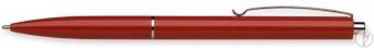 Pix SCHNEIDER K15, clema metalica, corp rosu - scriere albastra
