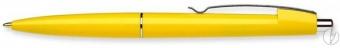 Pix SCHNEIDER Office, clema metalica, corp galben - scriere albastra