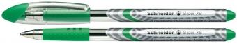 Pix SCHNEIDER Slider Basic XB, rubber grip - scriere verde