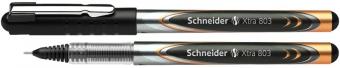 Roller cu cerneala SCHNEIDER Xtra 803, needle point 0.3mm - scriere neagra