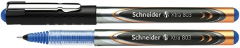 Roller cu cerneala SCHNEIDER Xtra 803, needle point 0.3mm - scriere albastra