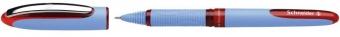 Roller cu cerneala SCHNEIDER One Hybrid N, needle point 0.3mm - scriere rosie