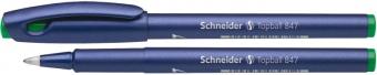 Roller SCHNEIDER Topball 847, varf cu bila 0.5mm - scriere verde