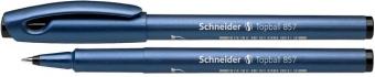 Roller SCHNEIDER Topball 857, varf cu bila 0.6mm - scriere neagra