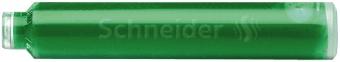 Patroane cerneala SCHNEIDER,   6buc/set - verde