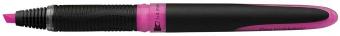 Textmarker SCHNEIDER One, varf tesit 1+4mm - roz