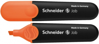 Textmarker SCHNEIDER Job, varf tesit 1+5mm - orange