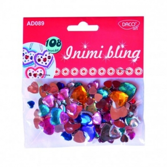 ACCESORII CRAFT - AD089 INIMI BLING DACO
