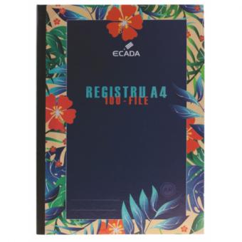 REGISTRU A4 CARTONAT 100F AR ECADA