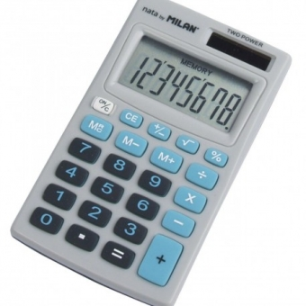 CALCULATOR 8 DG MILAN 208BBL