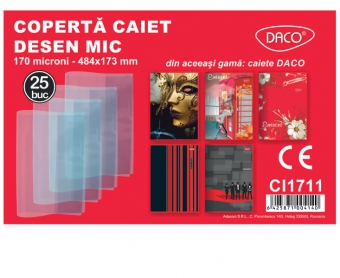 COPERTA CAIET DESEN MIC - DACO CI1711 484MMX173MM