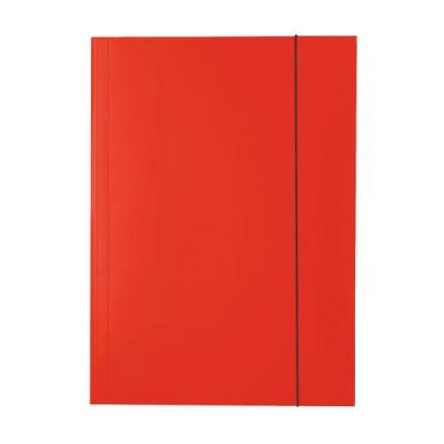 Mapa carton cu elastic rosu Esselte