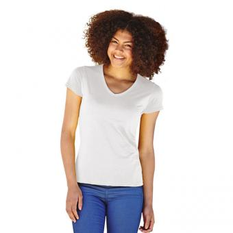 Tricou ALB LADY-FIT VALUEWEIGHT FRUIT OF THE LOOM